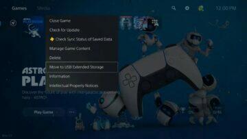 playstation 5 aktualizace