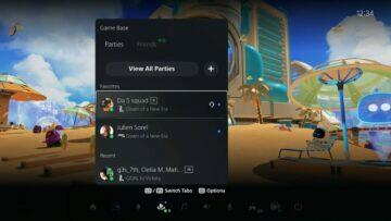 playstation 5 aktualizace iOS Android