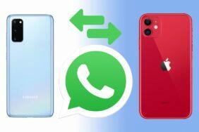 přenos WhatsApp konverzací mezi iPhonem Androidem