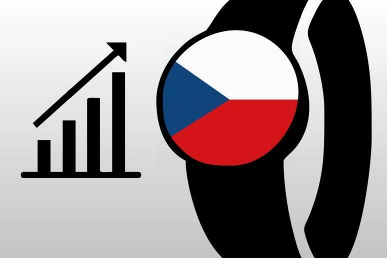 Prodej nositelné elektroniky ČR 2020