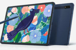 První render Galaxy Tab S7 Lite
