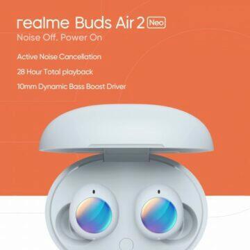 Realme chystá sluchátka Buds Air 2 Neo
