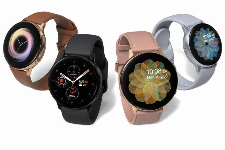 Rodina Galaxy Watch Active a nová aktualizace