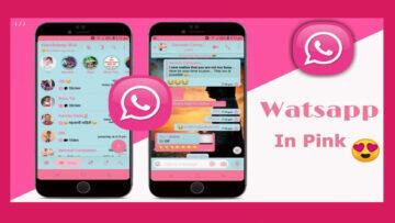 Růžový WhatsApp neexistuje