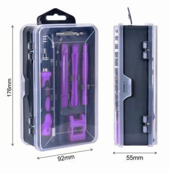 Palubní kamera DDPAI Mola N3 Sada nářadí Kindlov 115 in 1 kufřík rozměry
