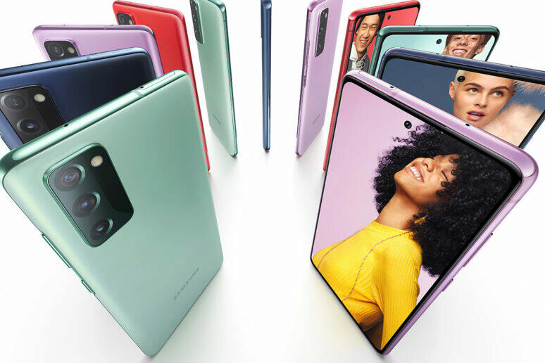Samsung Galaxy S20 FE 4G s čipsetem Snapdragon 865