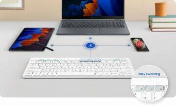 Samsung představí cestovní klávesnici