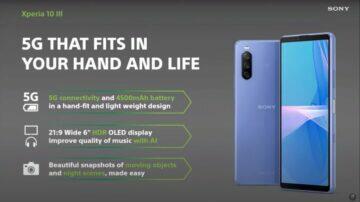 Sony Xperia 10 III oficiálně