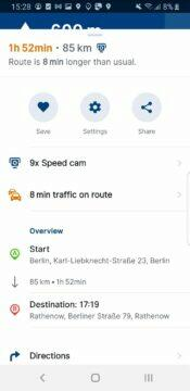 Sygic aplikace modernizace itinerář SDK