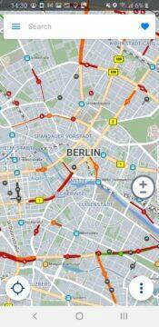 mapa Berlín SDK