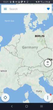Sygic aplikace modernizace mapa EU stará