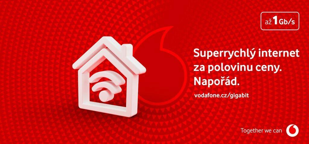 vodafone internet sleva