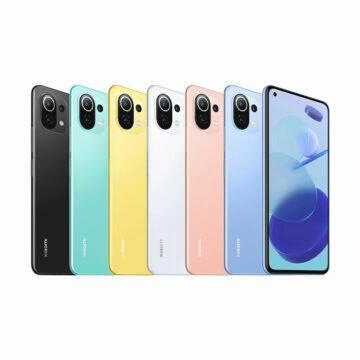 Vodafone Xiaomi Mi 11 lite 5G - colores