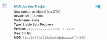 Xiaomi Mi 10 Pro MIUI 12.5