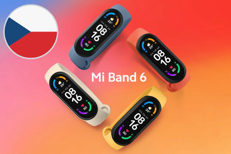 Xiaomi Mi Band 6 česká cena
