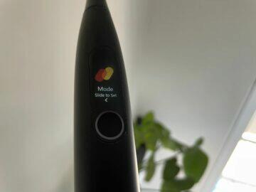 Xiaomi Oclean X Pro co umí displej