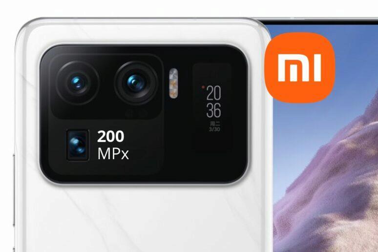 Xiaomi telefon 200megapixelový fotoaparát