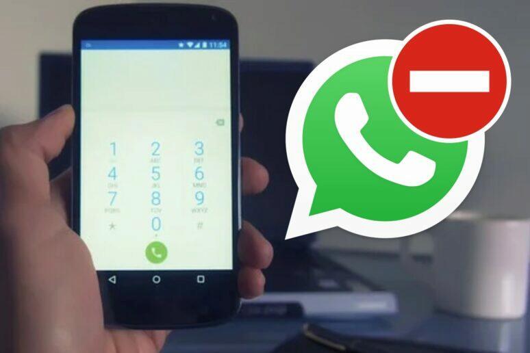 zablokování WhatsApp účtu telefonní číslo