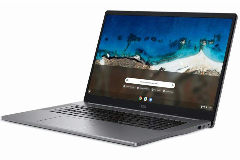 Acer představil jako první na světě 17palcový Chromebook
