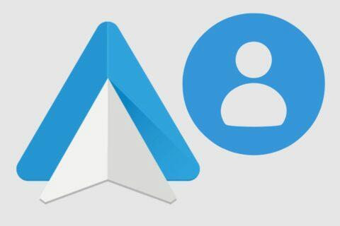 Android Auto firemní Google účty