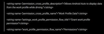 Android Auto firemní Google účty kód