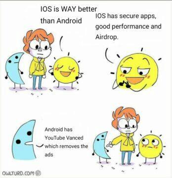 Android meme páteční vtípky
