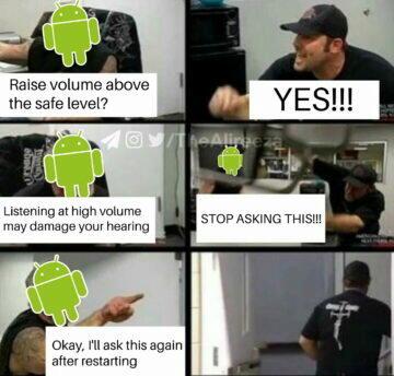 android vtipné meme