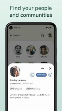 aplikace Clubhouse Obchod Google Play hledání