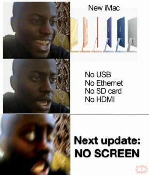 apple meme páteční vtípky
