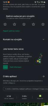 beta seznam Mapy jste tester