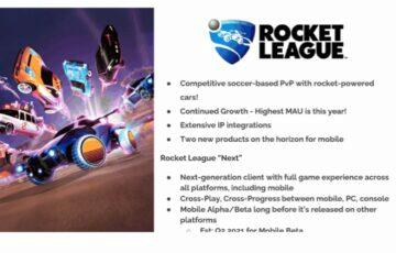 chystá se Rocket League na Android screen