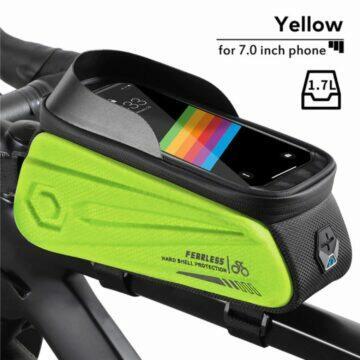 Cyklistická brašna s kapsou na mobil West Biking