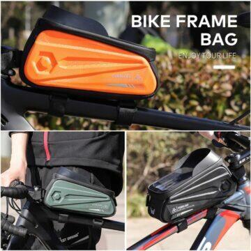 Cyklistická brašna s kapsou na mobil West Biking modely