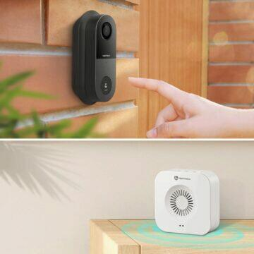 Domovní videozvonek HeimVision Greets CA1MQ komponenty
