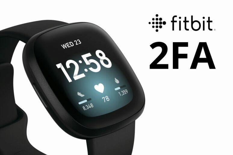 Fitbit zavádí doufaktorové přihlašování 2FA login