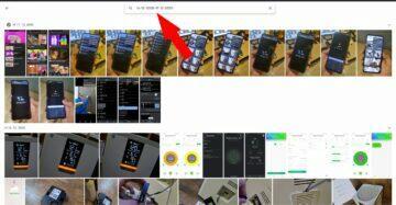 Fotky Google podle konkrétního data web rozmezí dat