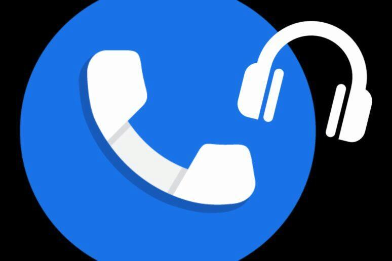 Google Telefon hlasité oznámení jména čísla volajícího caller ID