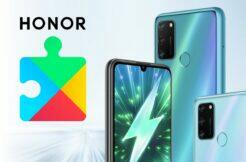 Honor 50 Google služby aplikace