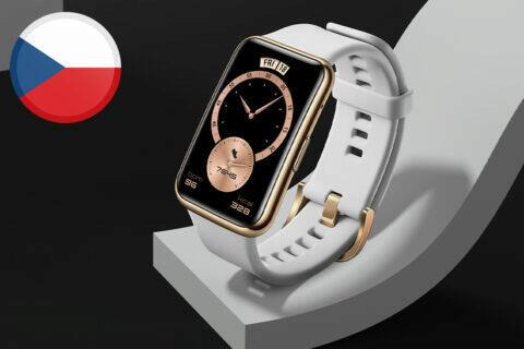 huawei watch fit v česku