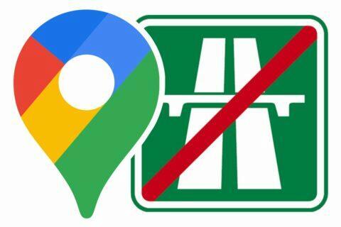 Jak se v Google Mapách vyhnout dálnicím