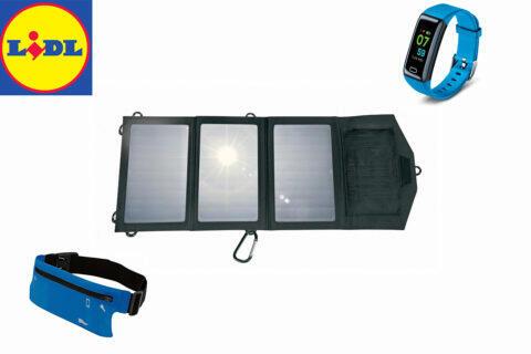 lidl nabízí solární nabíječku