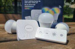 LIDL Smart Home brána žárovky ovladač