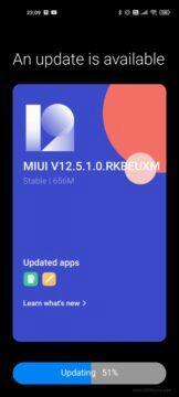 MIUI 12.5 Xiaomi Mi 11