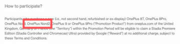 název OnePlus Nord2 screenshot