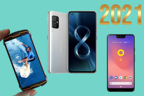 nejlepší kompaktní telefony 2021