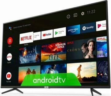nejlevnější televizory se systémem ANdroid tv