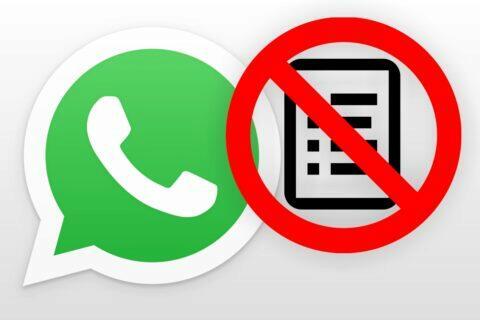 nepřijetí WhatsApp pravidel