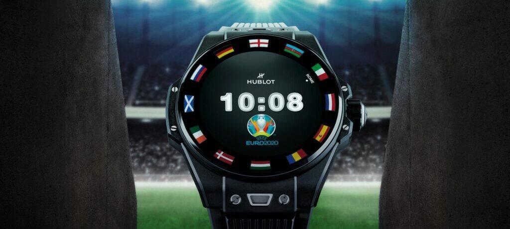 Nové Hublot Big Bang e UEFA Euro 2020 displej
