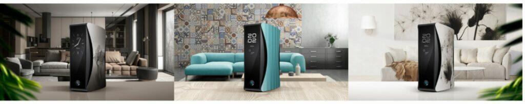 nový O2 Smart Box design barvy