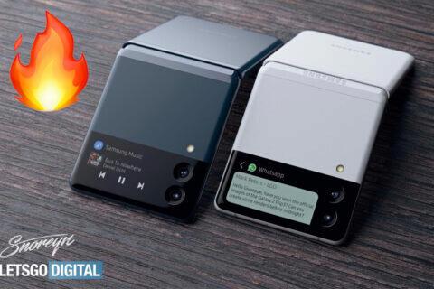 nový ohebný telefon samsung